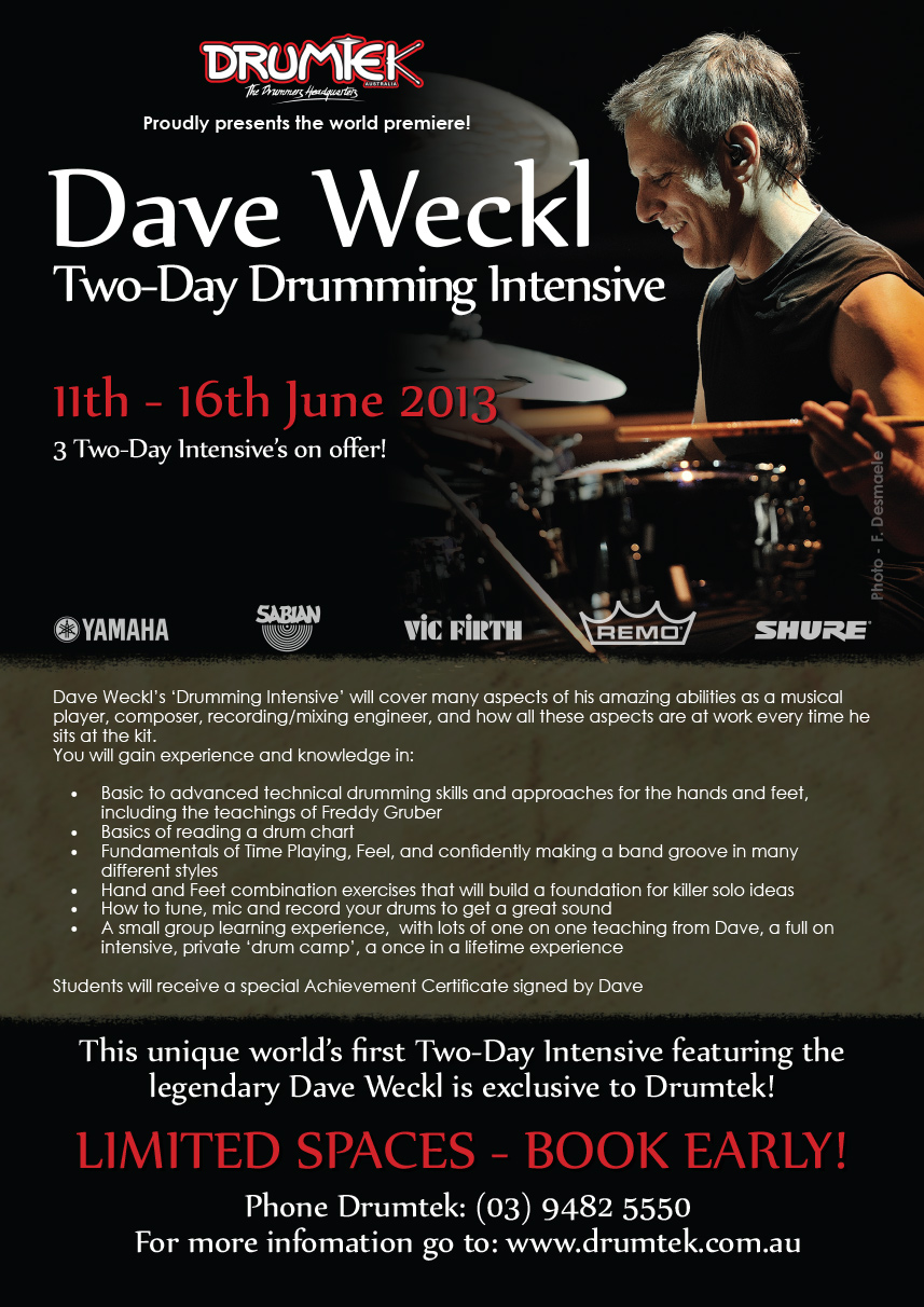 Weckl-Drum-Intensive